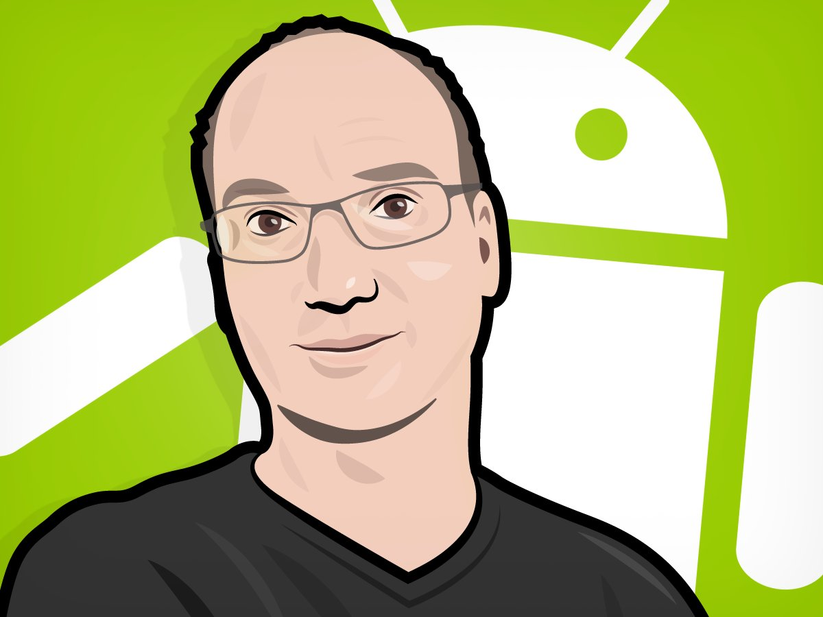 An Illustration of Andy Rubin by Mike Nudelman/Business Insider